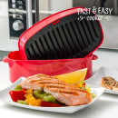 groothandel Magnetron & ovens: Fast & Easy  Grill-Pan voor de Magnetron