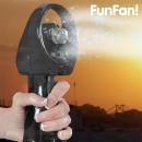Großhandel Klimageräte & Ventilatoren: FunFan Tragbarer  Sprüh-Ventilator (Farbe: Weiß)