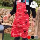 Großhandel Grills & Zubehör: BBQ Classics  Grillschürze (Farbe: Rot)