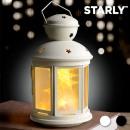 Großhandel Windlichter & Laternen: Starly LED-Laterne (Farbe: Schwarz)