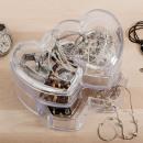 groothandel Sierraadkisten: Hearts Juwelendoos met Lade
