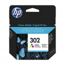 groothandel Printers & accessoires: HP 302 F6U65AE kleureninktcartridge Officejet 3830