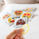 Emoticon Kondome (6er Pack)