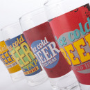 Ice Cold Beer Glass