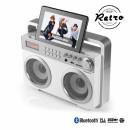 grossiste Electronique de divertissement: Radio Retro MP3  Bluetooth AudioSonic RD1559