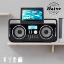 groothandel Auto's & Quads: AudioSonic RD1556  Oplaadbare  Bluetooth Retro ...