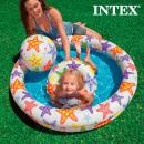 Medence Felfújható Strandjátékokkal Intex (3 darab