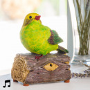 Decorative Bird  with Sound and Motion Sensor