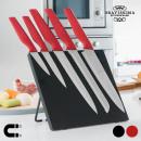 Großhandel Haushalt & Küche: Bravissima Kitchen  Messer mit Magnethalter (6 Teil
