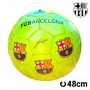 F.C. Barcelona  Mittelgroßer Gelber Fußball