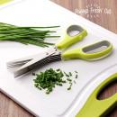 wholesale Kitchen Gadgets: Always Fresh Cut Multi Blade Scissors