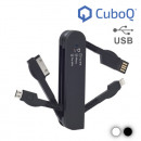 CuboQ Multi USB Cable - Black