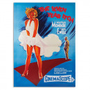 Großhandel Bilder & Rahmen: Marilyn Monroe Das  verflixte siebte Jahr Leinwandd
