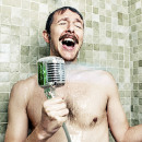 Retro Microphone Shower Head