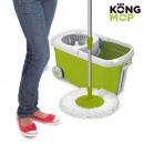 groothandel Reinigingsproducten: Kong Mop Draaiende  Mop en Emmer op Wieltjes