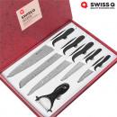 wholesale Knife Sets: Swiss Q Stone  Coated Knife Set (6 Pieces)