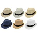 grossiste Vetement et accessoires: Paille, chapeau de  paille d'été Hommes