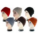 Großhandel Kopfbedeckung: Winter Mütze Strick Thermo, Caps,Hüte,