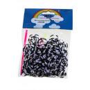 Colores NUEVO leopardo (2 colores anillo) Loom Ban