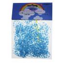 NUEVO Loom bandas transparentes, cielo azul + blan