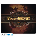 GAME OF THRONES - Mousepad - Logo & Card