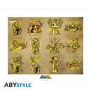SAINT SEIYA - Collector Artprint Gold Clothes (5