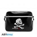 Großhandel Handtaschen: UNCHARTED - Messenger Bag - Skull - Vinyle*