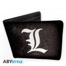 Großhandel Geldbörsen: DEATH NOTE - Wallet L symbol - Vinyle