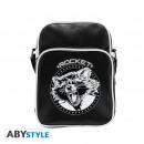 wholesale Handbags: MARVEL - Messenger Bag Rocket - Vinyl Small Size