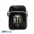 wholesale Handbags: WORLD OF TANKS - Messenger Bag Logo - Vinyl Sma