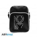 Großhandel Handtaschen: MARVEL - Messenger Bag Black Panther - Vinyl Smal