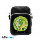 wholesale Handbags: RICK AND MORTY - Messenger Bag Portal - Vinyl