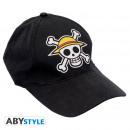 Großhandel Kopfbedeckung: ONE PIECE - Cap Black Skull