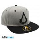 Großhandel Kopfbedeckung: ASSASSIN'S CREED - Snapback Cap - Grey - Crest