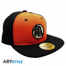 DRAGON BALL - Casquette Snapback - Noir et Orange