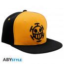 Großhandel Kopfbedeckung: ONE PIECE - Snapback Cap - Black & Yellow - ...