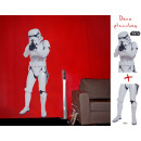wholesale Wall Tattoos: Star Wars - Stickers - scale 1 - Storm Trooper (bl