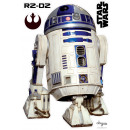 wholesale Wall Tattoos: Star Wars - Stickers - scale 1 - R2D2 (blister)