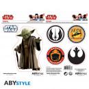 Star Wars - Stickers - 16x11cm / 2 sheets - Yoda /