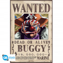 ONE PIECE - Poster Wanted Buggy (52x35)*