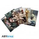 Großhandel Glückwunschkarten: STAR WARS - Postcards - Set 1 x5 Movie Scenes (1