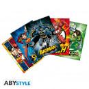 nagyker Üdvözlőkártyák: DC COMICS - Képeslapok - 1. készlet (14,8x10,5)