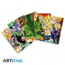Großhandel Glückwunschkarten: DRAGON BALL - Postcards DBZ - Set 1 x5 (14,8x10,5)