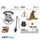 HARRY POTTER - Stickers - 16x11cm / 2 planches - M