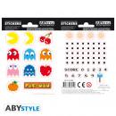 Großhandel Sonstige: PAC-MAN - Stickers - 16x11cm/ 2 sheets - Maze X5
