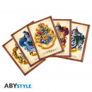 wholesale Greeting cards: HARRY POTTER - Postcards - Set 1 x5 (14,8x10,5)