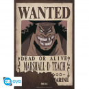 ONE PIECE - Poster Wanted Marshall D. Teach (52x