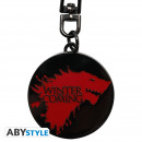 GAME OF THRONES - Keychain Winter is coming X4