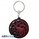 GAME OF THRONES - Keychain PVC Targaryen X4