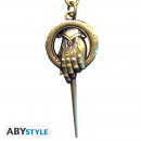 GAME OF THRONES - Keychain 3D Hand of King X2